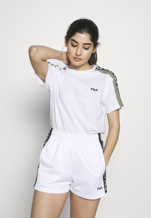 TANDYTEE - Camiseta estampada - bright white/sea spray