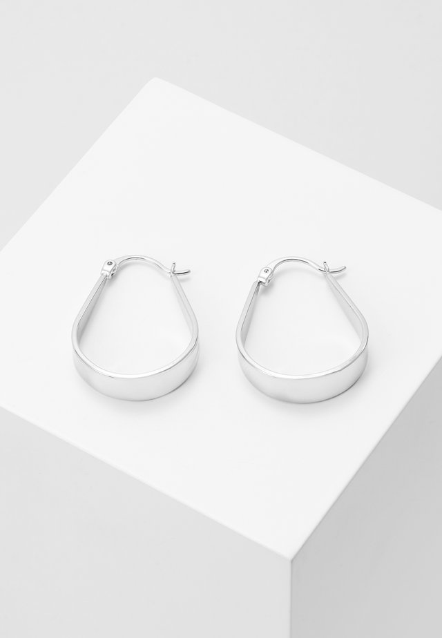 JAIN SMALL DROP EAR - Korvakorut - silver-coloured