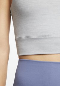 Nike Performance - THE YOGA LUXE CROP TANK - Top - particle grey/heather/platinum tint - 5