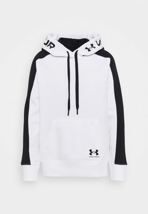 RIVAL HOODIE - Mikina s kapucí - white