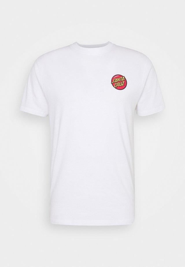 JACKPOT DOT UNISEX - T-shirt med print - white
