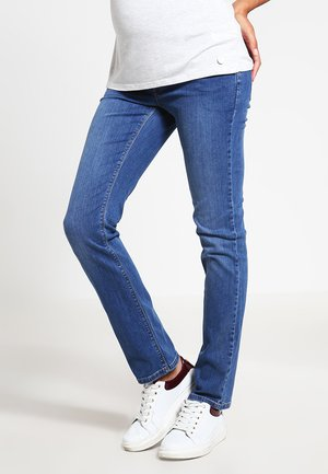 Straight leg jeans - medium wash