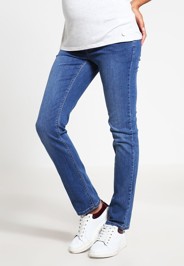 Jeans straight leg - medium wash