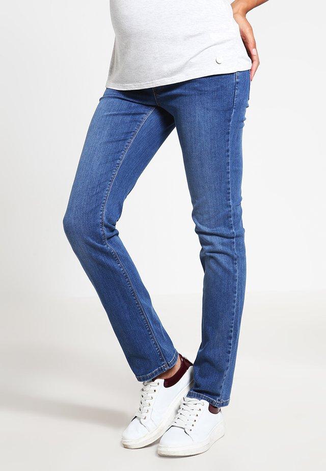 Straight leg jeans - medium wash
