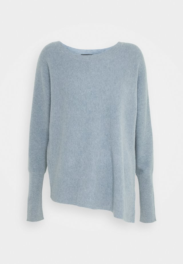 SWEATER - Strickpullover - dusty blue