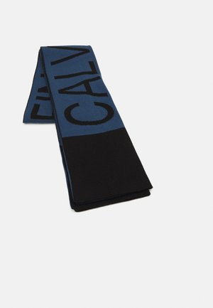 MIRROR LOGO SCARF UNISEX - Scarf - blue