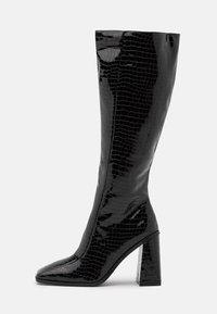 VEGAN - Korolliset saappaat - black
