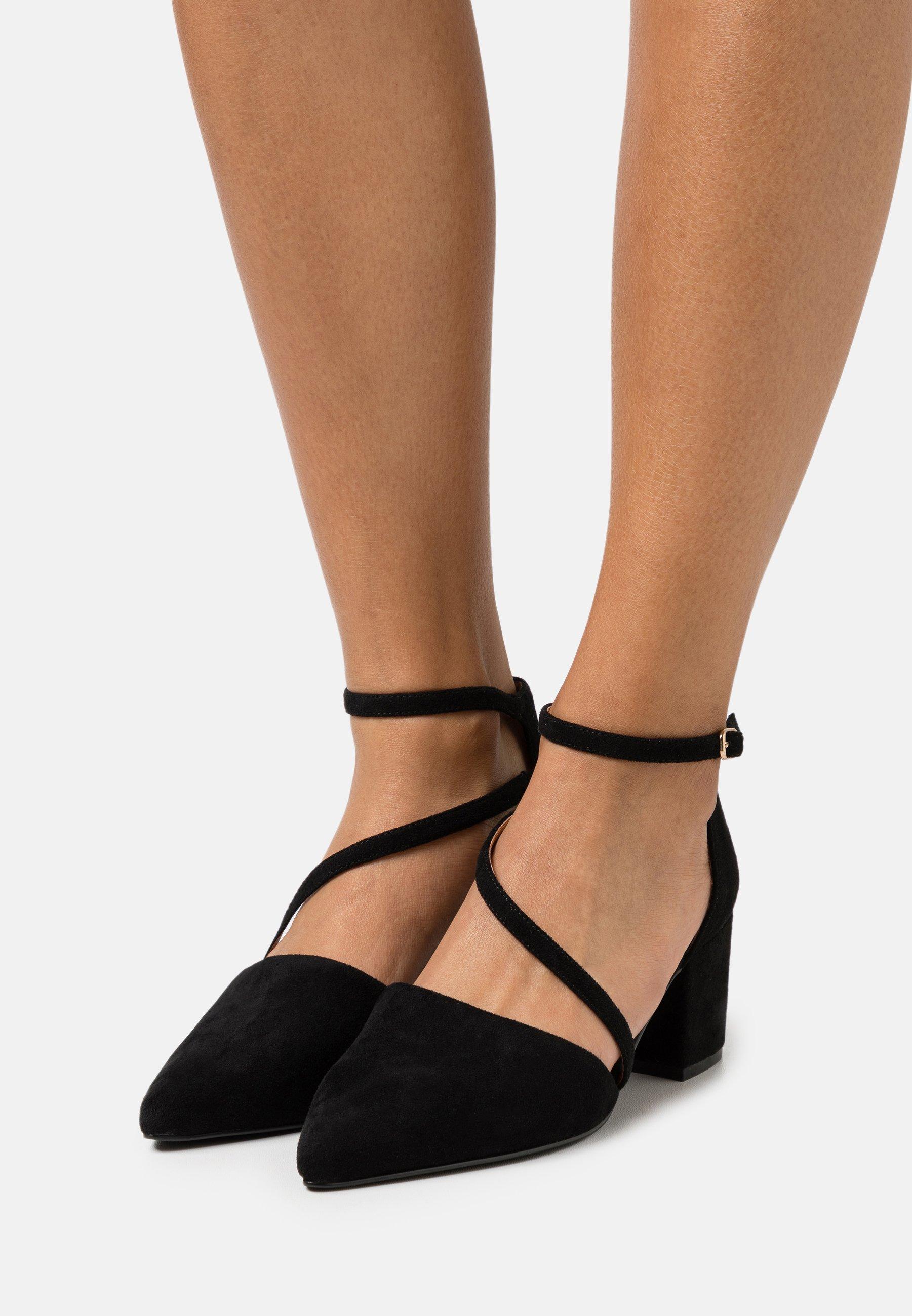 Femme BIADIVIVED STRAP  - Escarpins - black