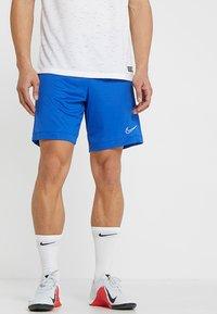Nike Performance - DRY ACADEMY SHORT  - kurze Sporthose - game royal/white - 0