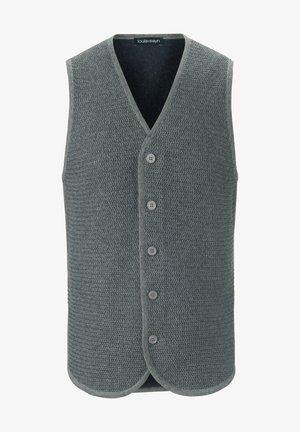 STRICKWESTE - Waistcoat - grau