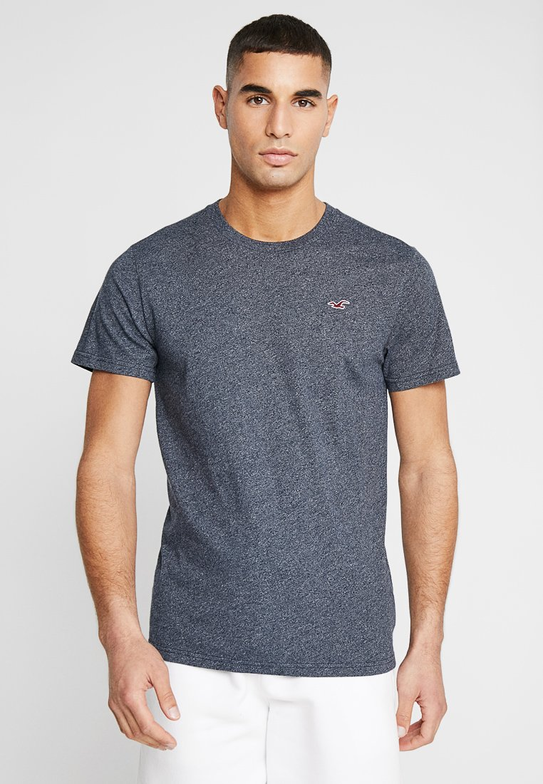 Hollister Co. - CORP ICON CREW - Print T-shirt - navy