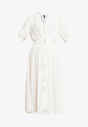 Shirt dress - eggnog