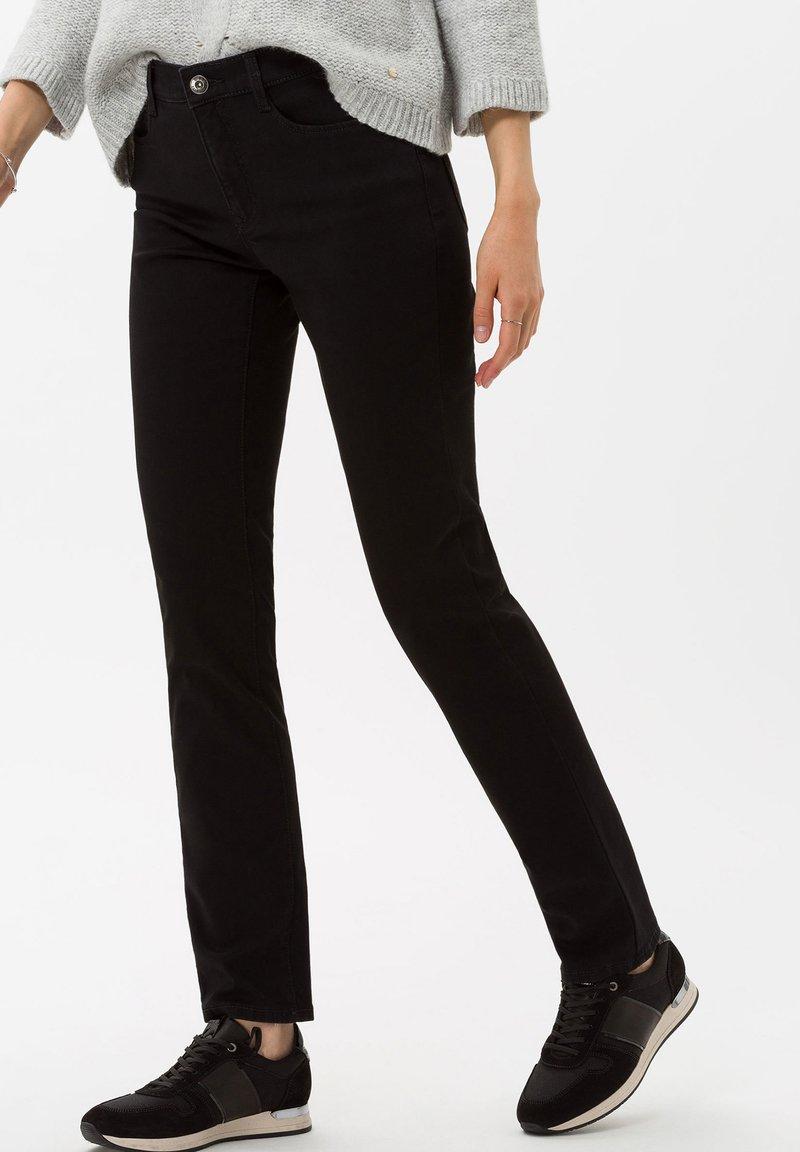 BRAX - STYLE MARY - Slim fit jeans - clean black black
