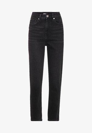CACHE CACHE MOM-JEANS MIT HOHEM BUND - Jeans Slim Fit - denim noir