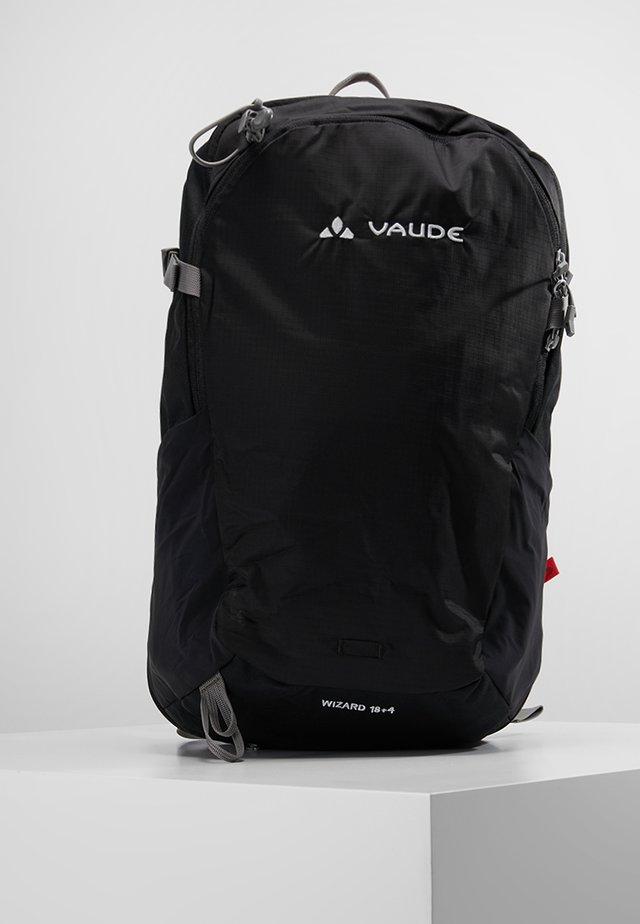WIZARD 18+4 - Hiking rucksack - black
