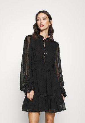 KACEY SKATER DRESS - Day dress - black