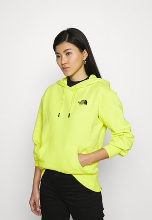 ESSENTIAL HOODIE - Jersey con capucha - sulphur spring green