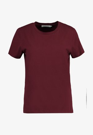 SOLLY TEE SOLID - Basic T-shirt - dark red