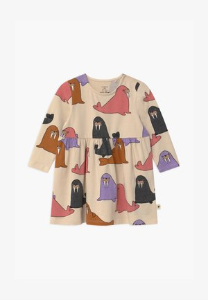 WALRUS - Jersey dress - light beige