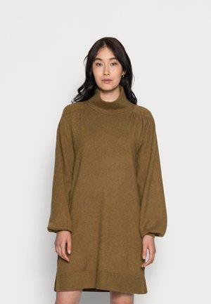 CLAURA TURTLE - Jumper dress - plantation melange