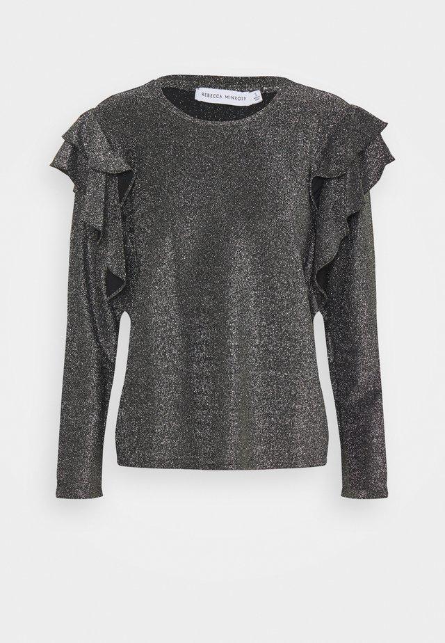 KIERA - Long sleeved top - pewter
