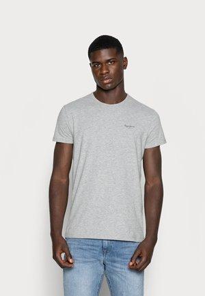 ORIGINAL BASIC - Basic T-shirt - gris marl