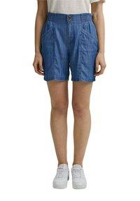 Esprit - Denim shorts - blue medium wash - 5