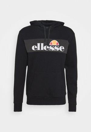 CASLINO - Jersey con capucha - black