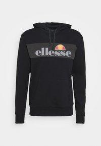 CASLINO HOODY - Bluza z kapturem - black