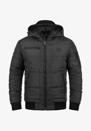 BORIS  - Winter jacket - black tedd