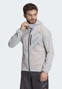 adidas Performance - TERREX AGRAVIC RAIN JACKET - Sports jacket - white - 2
