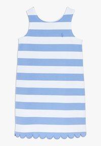 Polo Ralph Lauren - PONTE - Žerzejové šaty - harbor island blue/white - 0