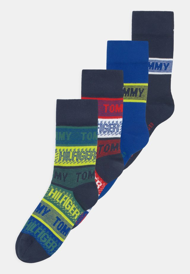 SEASONAL BRANDED 4 PACK UNISEX - Ponožky - multi-coloured/dark blue