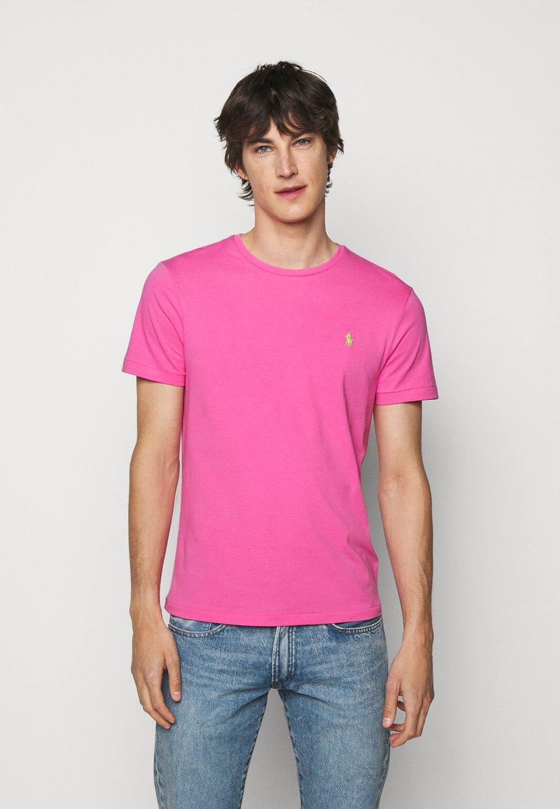 Polo Ralph Lauren - CUSTOM SLIM FIT CREWNECK - Basic T-shirt - maui pink