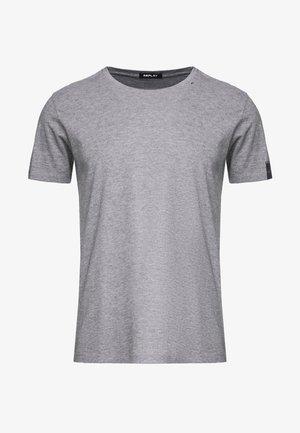 SHORT SLEEVE - Basic T-shirt - grey melange