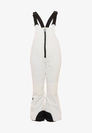 CHELLA SLIM FIT PANT - Zimní kalhoty - blanc