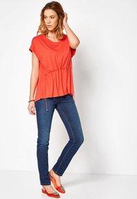 TONI - BELOVED CS - Slim fit jeans - 582 blue used - 1