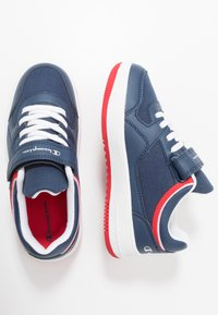Champion - LOW CUT SHOE NEW REBOUND UNISEX - Basketball shoes - navy - 0