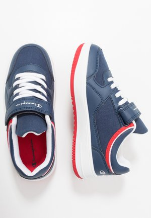 LOW CUT SHOE NEW REBOUND UNISEX - Basketball shoes - navy