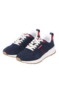M. Moustache - DANIEL - Sneakers laag - navy blue red - 2