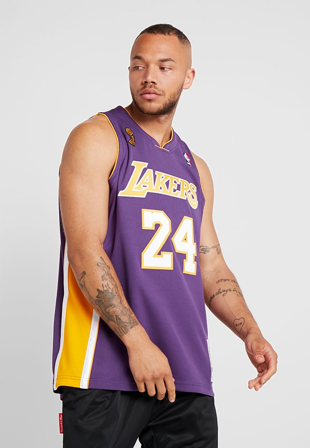 NBA LA LAKERS KOBE BRYANT AUTHENTIC - Article de supporter - purple