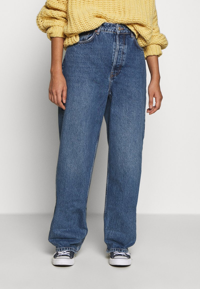 Topshop - ZED MOM - Relaxed fit jeans - blue denim