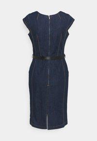 comma - Denim dress - blue denim - 1