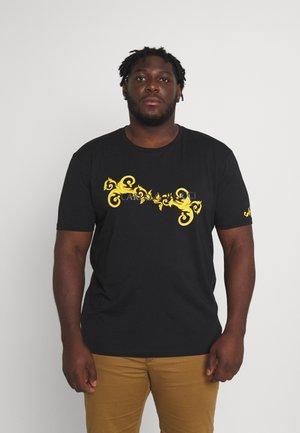 RANKE BIG - Print T-shirt - black
