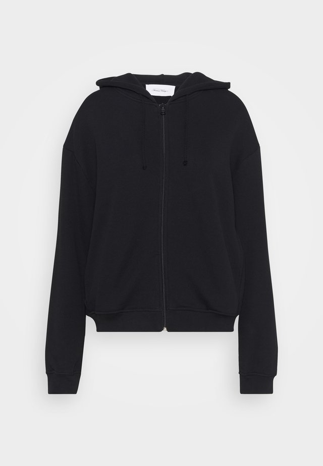 FOBYE - Zip-up hoodie - noir vintage
