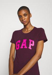 GAP - TEE - Print T-shirt - secret plum - 3