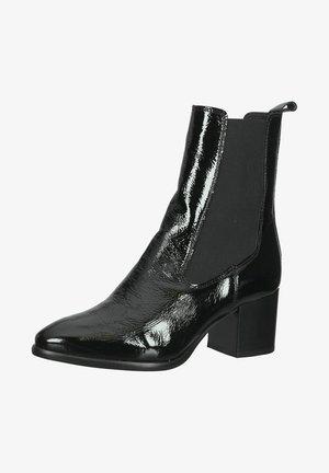 Ankle boots - black lack