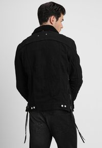 Be Edgy - BEKELVYN  - Kurtka jeansowa - black used - 2