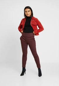 Forever New Petite - GEORGIA PANT - Trousers - wine - 2