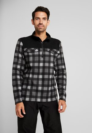 SLATERS MENS - Bluza z polaru - black